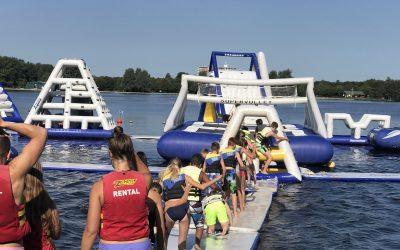 Hubertus-Brandaan opent seizoen in Aquapretpark Vlietland