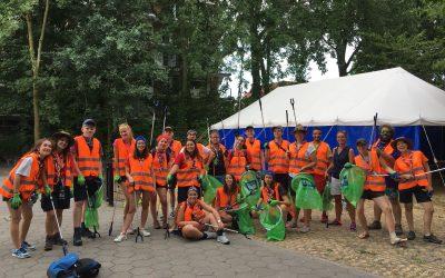 'Zakken vol zwerfvuil uit Voorburgse parken'
