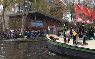Hubertus-Brandaan pauzeplek en persboot van de Sint