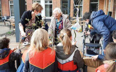 Vrolijk Pasen van Scouting Hubertus-Brandaan